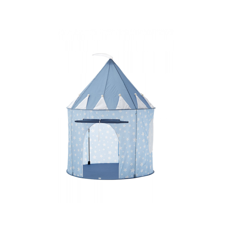 Stan guľatý Star modrý