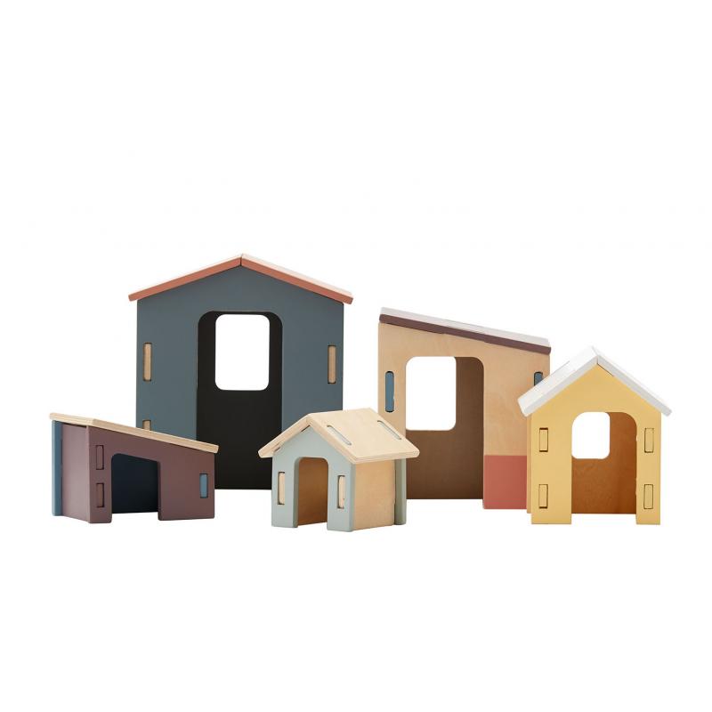 Domčeky drevené Edvin
