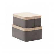 Krabica 2 ks Grey