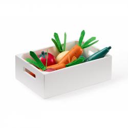 Zelenina v bedýnce dřevěná Bistro