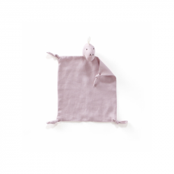 Muchláček plátený Neo Dino Pink