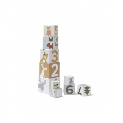 Kocky kartónové Edvin 10 ks