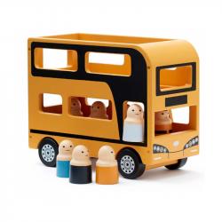 Autobus Doubledecker Aiden drevený