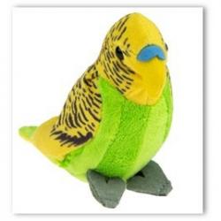 Plyšový papagáj 12 cm