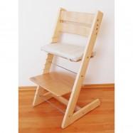 Dětská rostoucí židle JITRO KLASIK přírodní lakovaná