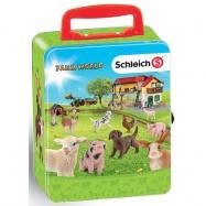 Sběratelský kufřík SCHLEICH zvířata