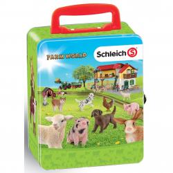 Zberateľský kufrík SCHLEICH zvieratá