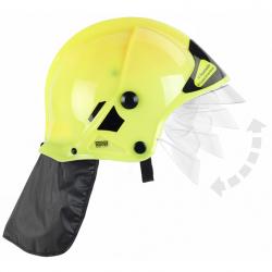 Hasičská helma, žltá