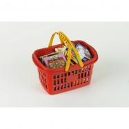 Nákupní košík s maketami potravin
