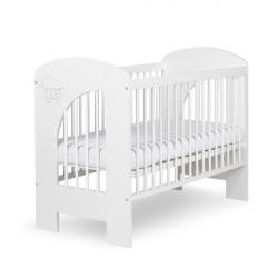 Dětská postýlka Nel mráček bílý - 120x60