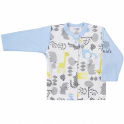 Dojčenský kabátik Koala Animals in ZOO modrý