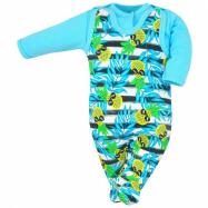 2-dielna kojenecká súprava Koala Tropical modrá