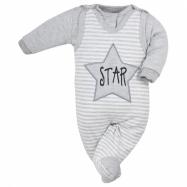 2-dílná kojenecká souprava Koala Star s pruhy