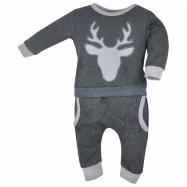 Dojčenské tepláčky a mikinka Koala Deer šedej