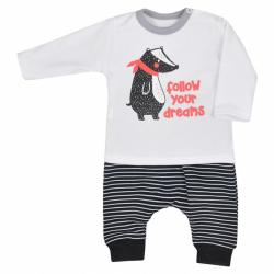 Kojenecké tepláčky a tričko Koala Jezevec