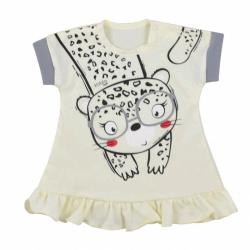 Dojčenské letné šaty Koala Sara béžove