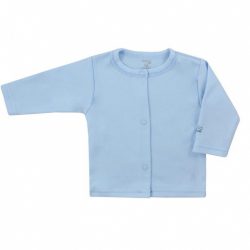 Dojčenský bavlnený kabátik Koala Happy Baby modrý