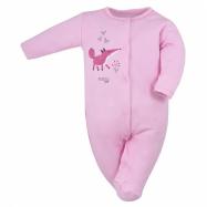 Kojenecký bavlněný overal Koala Happy Baby růžový