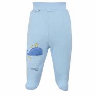 Dojčenské bavlnené polodupačky Koala Happy Baby modré