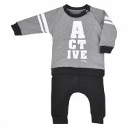 Dojčenské tepláčky a mikinka Koala Active šedá