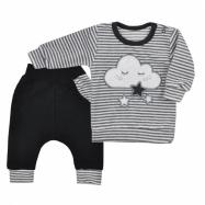 Dojčenské semiškové tepláčky a tričko Koala Cute Cloud