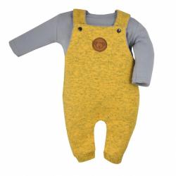 2-dielna kojenecká súprava Koala Koala melírovaná žltá