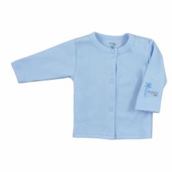 Kojenecký bavlněný kabátek Koala Farm modrý