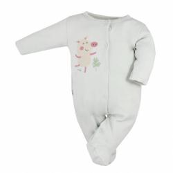 Dojčenský bavlnený overal Koala Farm béžový