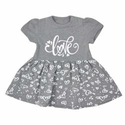 Kojenecké letní šaty Koala Love Summer grey
