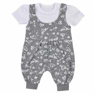 2-dílná kojenecká souprava Koala Love Summer grey