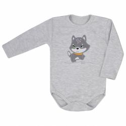 Dojčenské body s dlhým rukávom Koala Doggy