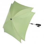 ZOPA UV parasol ogrodowy kwadratowy zielony