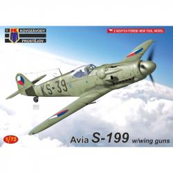 Avia S-199 w / with guns