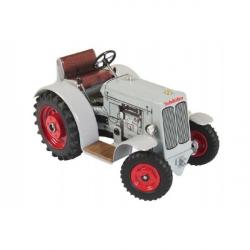 Traktor Schlüter DS 25 šedivý na klíček kov 1:25 v krabičce 17 x 11 x 10 cm Kovap