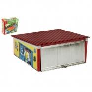 KOVAP Garaż z otwieranymi drzwiami 15x6x13cm