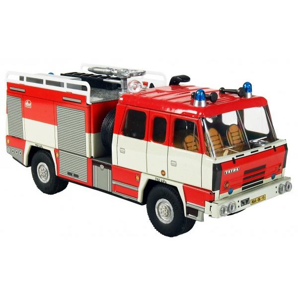 Tatra 815 hasiči kov 18cm 1:43 v krabičke Kovap