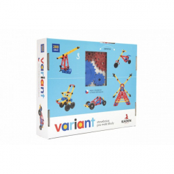 Stavebnica Variant plast 280ks v krabici 33x28x8cm