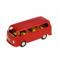 Auto VW mikrobus T2 červený kov 12cm v krabičke Kovap