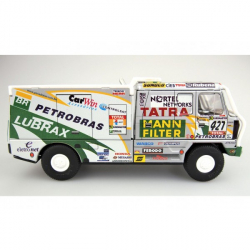 Auto Tatra 815 Dakar 2001 Petrobras kov 16cm 1:43 v krabičke Kovap