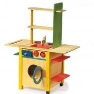 Dětská kuchyňka dřevěná 1133
