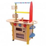 Kuchnia dla dzieci drewniana Deluxe 1155