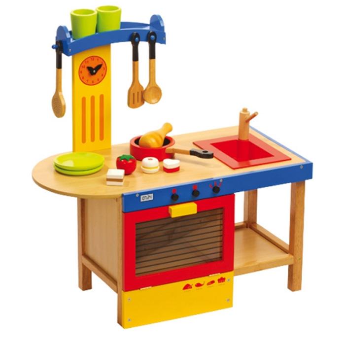 Dětská kuchyňka dřevěná 1522