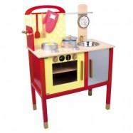 Dětská kuchyňka dřevěná 6523