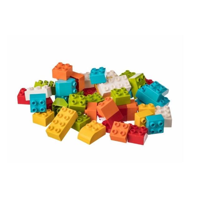 LW Toys Stavebnica pre najmenších staviteľa KOCKY 1,5+