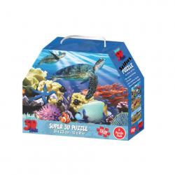 3D Puzzle Animal Kingdom 3w1