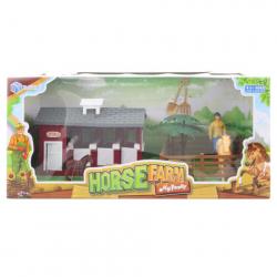 Stajňa pre kone s doplnkami