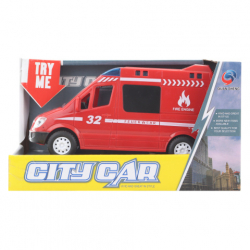 Akumulatorowy wóz strażacki