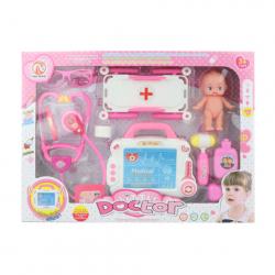 Doktorské sada na batérie s bábätkom