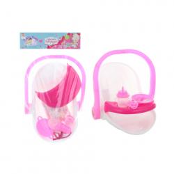 Nosze z akcesoriami dla lalki