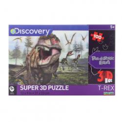 3D Puzzle T-Rex 100 dielikov